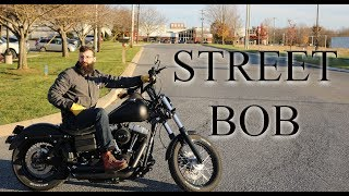 2. Decided to Drive a Street Bob Today