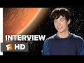 The Space Between Us Interview - Asa Butterfield (2017) - Drama