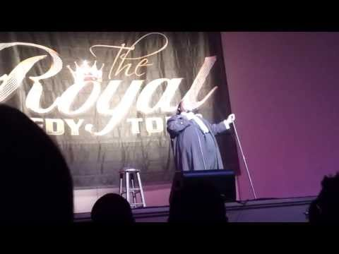 Bruce Bruce @ Royal Comedy Tour Wash DC 3/22/13 p1