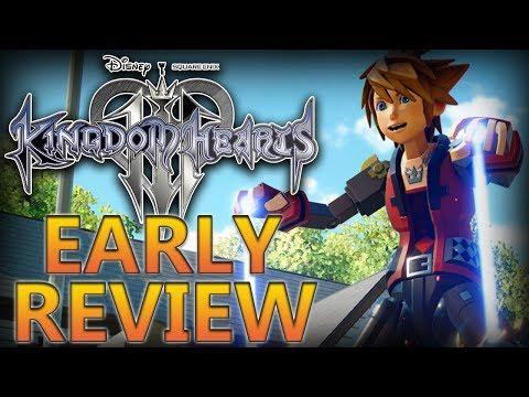 Kingdom Hearts 3 | Early Review (видео)