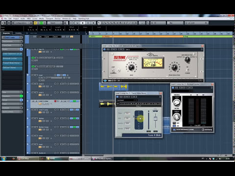 How to mix vocals in Cubase 7 – Tutorial