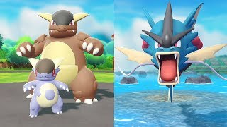 Sneak Peek: Unleash the Power of Mega Kangaskhan and Mega Gyarados! by The Official Pokémon Channel
