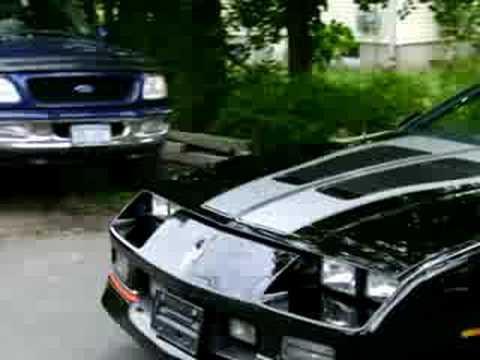 1988 IROC Z Camaro Convertible