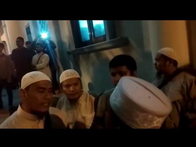 Video Massa Bubarkan Kajian Ustaz Firanda di Masjid Al Fitrah Banda Aceh
