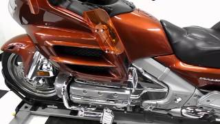 6. 2007 Honda GL1800 Goldwing Orange - used motorcycle for sale - Eden Prairie, MN