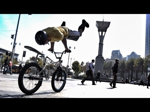 Bike Parkour -Streets of San Francisco!_A valaha feltöltött legjobb extrémsport videók
