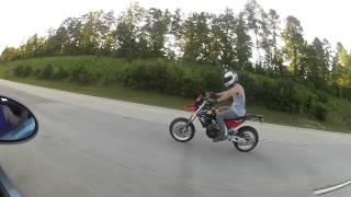 8. 2008 Aprilia SXV 550 Supermoto #StayReckless