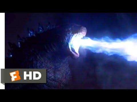 Godzilla (2014) - Godzilla vs. Male MUTO Scene (8/10) | Movieclips