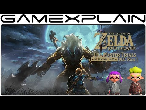 Zelda: BotW DLC Pack 1 is WAY Bigger on Wii U + Splatoon Gear is 1st My Nintendo Switch Reward