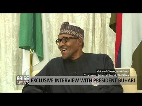 Download Arise-ThisDay 90 Minutes exclusive interview with the President - Muhammadu Buhari