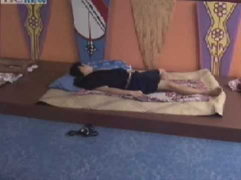 Jakol - ivan sleeping in pinoy big brother, tinitigasan at nalibugan.