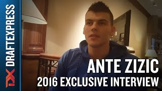 Ante Zizic Exclusive DraftExpress Interview