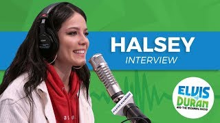 Video Halsey Chats Designing Her Stage + Being Strangely Calm After Performing | Elvis Duran Show download in MP3, 3GP, MP4, WEBM, AVI, FLV January 2017