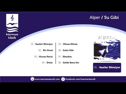 Alper – Saatler Bitmiyor Sözleri