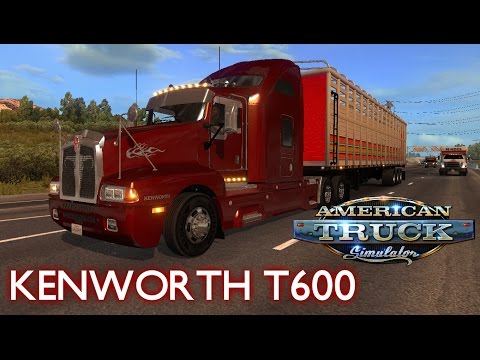 KENWORTH T600 (NEW) v1.0