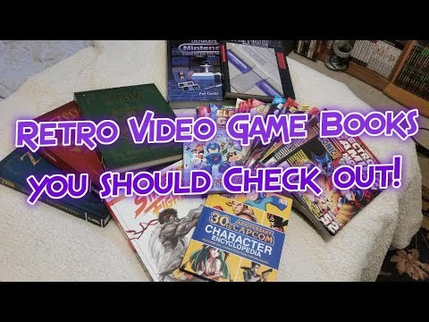 Retro Video Game Books! NEO GEO, SNES, Sega, NES, Zelda, Street Fighter & More!