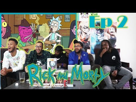 "Rick and Morty Episode 2 ""Lawnmower Dog"" REACTION/REVIEW"