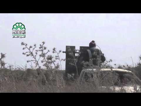 حمص: جانب من صد محاولة ميليشيات الأسد التقدم على جبهة قرية كيسين