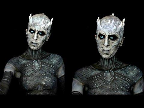 Game of Thrones: Night's King White Walker Makeup Tutorial