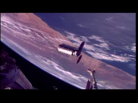 Orbital ATK's Cygnus Rendzevous and Installation to the International Space Station © NASA