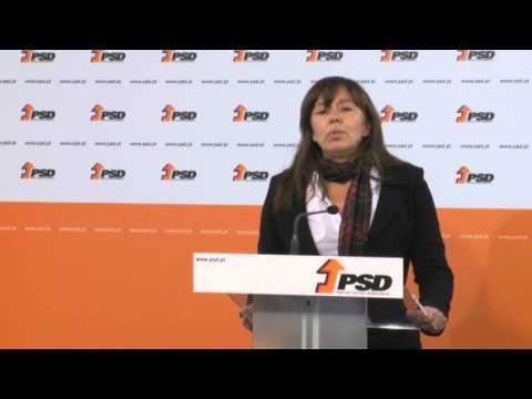 Declaração à Imprensa de Teresa Leal Coelho