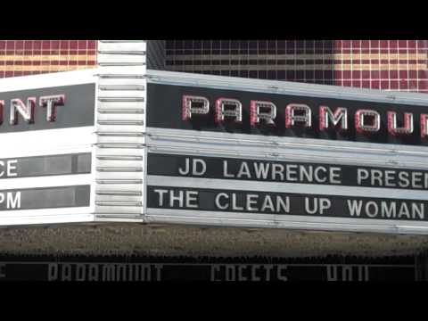 Martin Lawrence and JD Lawrence at the Paramount Theater
