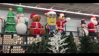 Neptune (NJ) United States  city photo : 50 DAYS UNTIL CHRISTMAS - WALMART XMAS SECTION (Neptune, NJ) - New Jersey Shopping Decorations