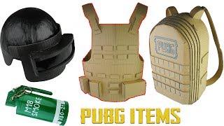 Video How to make PUBG ITEMS Compilation Level 3 Helmet, Smoke Bomb, Lvl 3 Military Vest, Lvl3 Backpack MP3, 3GP, MP4, WEBM, AVI, FLV Desember 2018