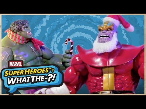 A Marvel StopMotion Animation Featuring the Mad Titan Thanos as