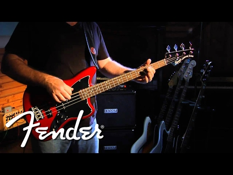 Squier Vintage Modified Jaguar Bass Special SS Demo