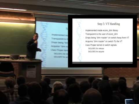 FOSDEM 2014 – Enlightenment As Standalone Wayland Compositor