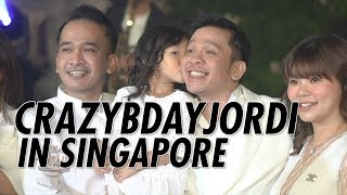 Video The Onsu Family - CRAZYBDAYJORDI di Singapore MP3, 3GP, MP4, WEBM, AVI, FLV Juni 2019