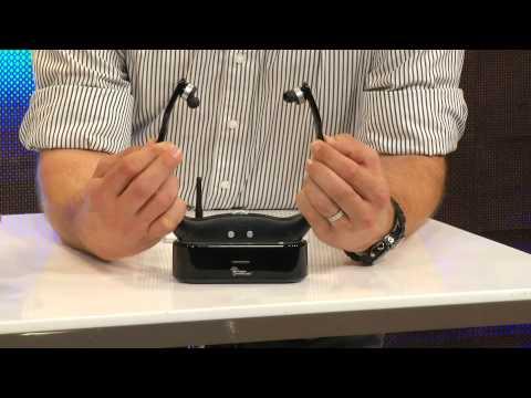 infactory Hörverstärker im Headset-Design