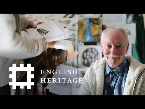 Making The Map | Telling Tales With Clive Hicks-Jenkins