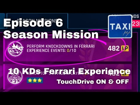 Asphalt 9 - Perform Knockdowns in Ferrari Experience Events - Mission - TD Guide