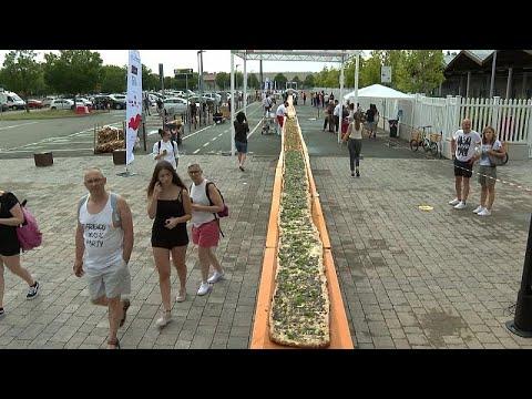 Ιταλία: Πίτσα 500 μέτρα μπήκε στο βιβλίο Guinness
