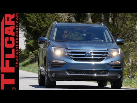 2016 Honda Pilot Sneak Peek Review: Driving outside of the Box