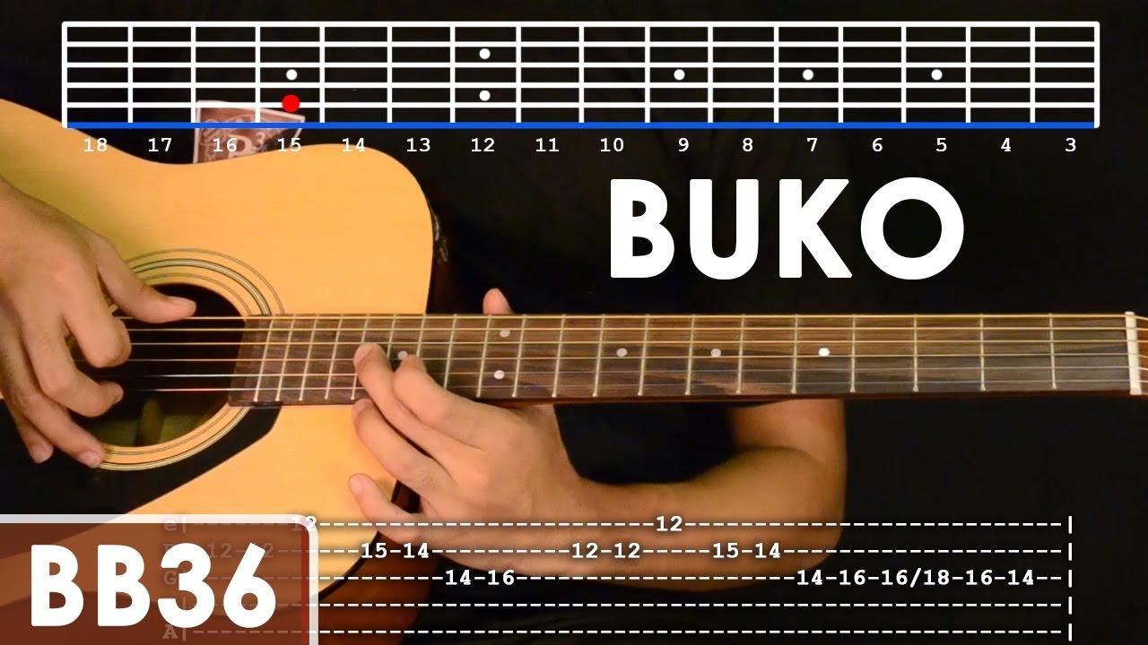 Buko – Jireh Lim Guitar Tutorial (includes intro lead and rhythm)