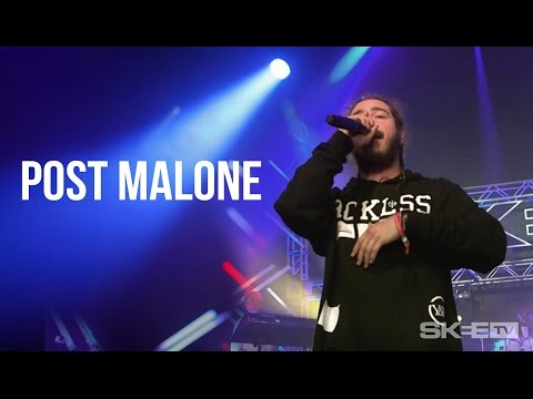"Post Malone ""White Iverson"" - First Ever TV Performance Live On SKEE TV"