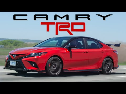 The 2020 Toyota Camry TRD is a Reasonably Priced Sports Sedan