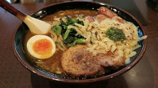 Toyama Japan  city photo : The best curry ramen in Toyama, Japan!