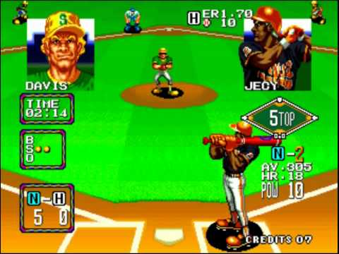 baseball stars 2 neo geo cd