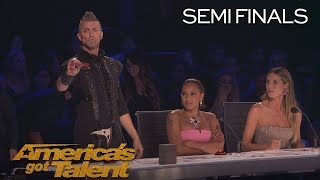 Video Aaron Crow: Howie Mandel Nearly Escapes Dangerous Performance - America's Got Talent 2018 MP3, 3GP, MP4, WEBM, AVI, FLV September 2018