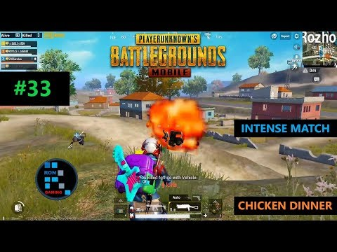 [Hindi] PUBG MOBILE | INTENSE MATCH CHICKEN DINNER WITH SUBS SQUAD