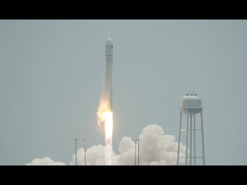 Launch - Orbital Sciences Corporation's Antares rocket and Cygnus cargo craft launched from Wallops Flight Facility on the Orbital-2 mission -- the company's second o...