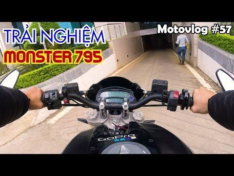 Cảm nhận Ducati Monster 795 - Moto cho người bắt đầu chơi PKL | Motovlog 57 - Thời lượng: 17 phút.