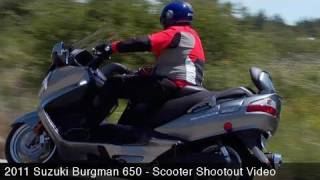 9. MotoUSA Scooter Shootout:  2011 Suzuki Burgman 650