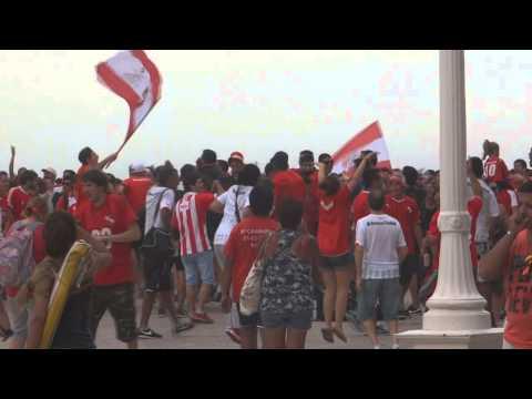 Bristol y Hotel Provincial. Independiente 0 - Racing 2. Verano 2015. - La Barra del Rojo - Independiente