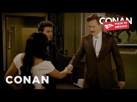 Conan O Brien Guest Stars in a Mexican Telenovela