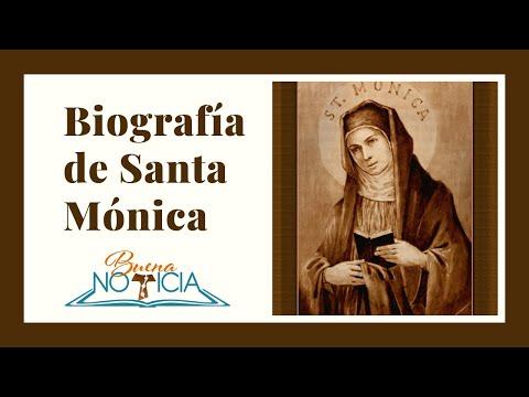 Biografía de Santa Mónica